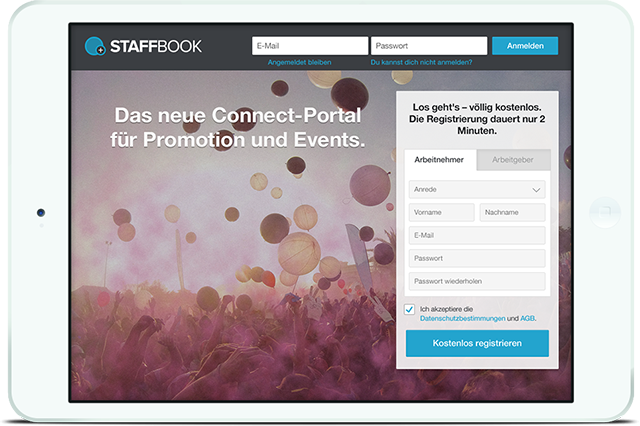 Promotion Jobs & Event Jobs bei STAFFBOOK
